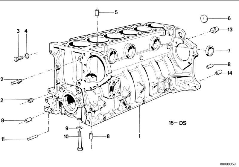 bmw engine block 635csi e24 | hubauer-shop.de  hubauer-shop.de