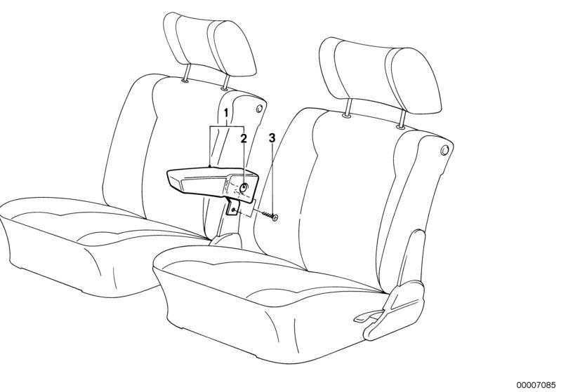 Ersatzteile Sitze M5 Limousine E28