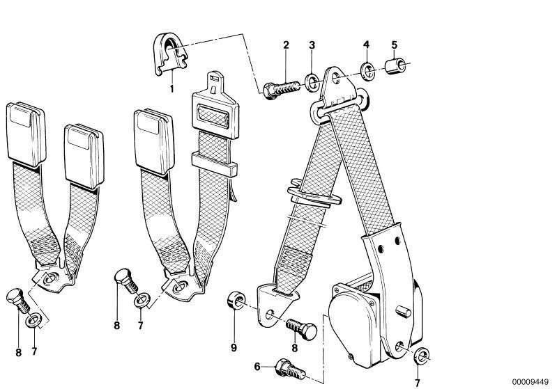 Ersatzteile Zubehr Und Rckhaltesysteme M5 Limousine E28