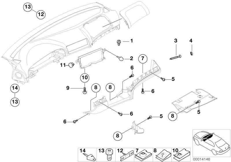 Vehicle Trim Parts M5 Saloon E39