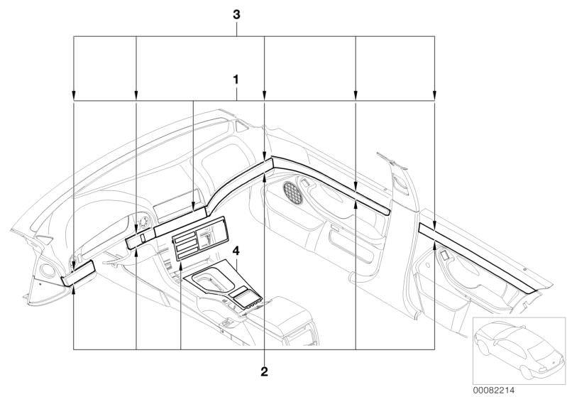 Accessories Parts 520ia Saloon E39