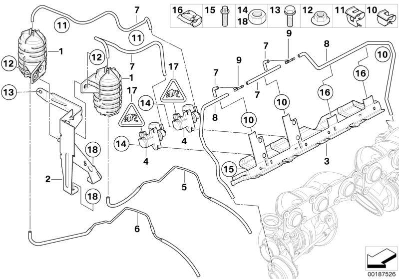 Bmw Unterdrucksteuerung Turbolader 335i E92 Hubauer Shopde