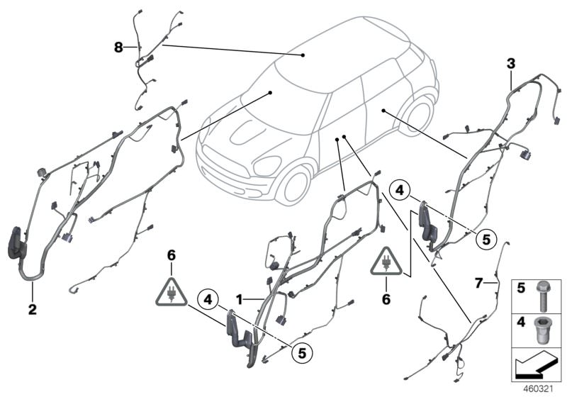 Vehicle Electrical System Parts Cooper D Clubman F54