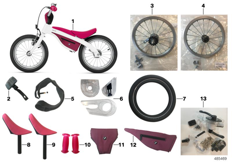 Accessories BMW spare parts | HUBAUER-Shop de