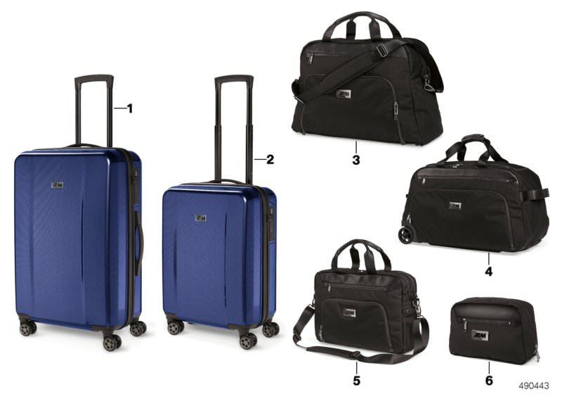 Bmw M Collection Koffer Taschen 1820 Hubauer Shopde