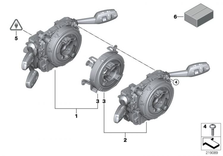 Original BMW Repair kit SZL (83192179894)