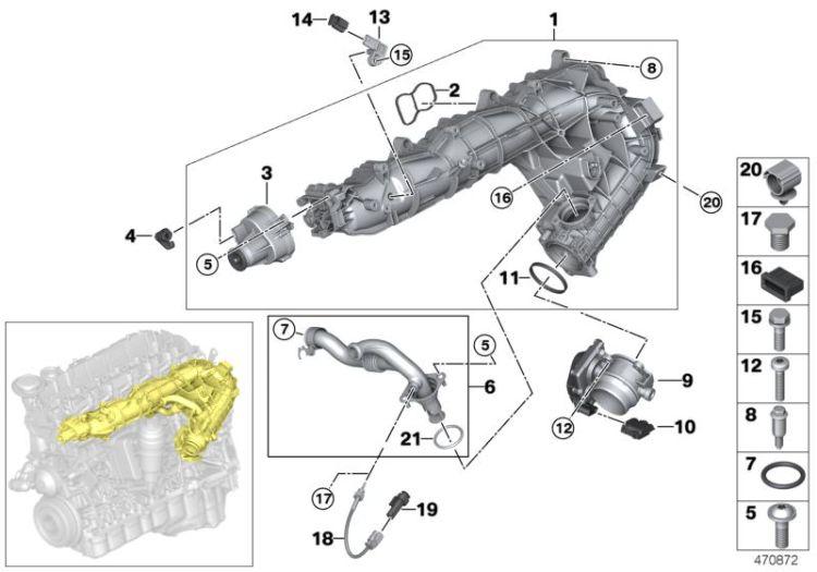 0,35 MM²//AG 12527564537 1x BMW Jack MLK 1.2