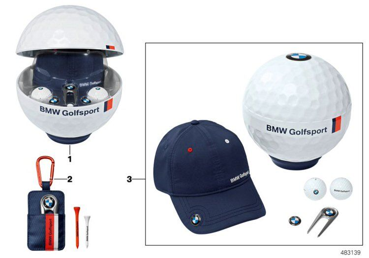 BMW Golfballset Titleist Pro V1 3 pieces (80232284799)