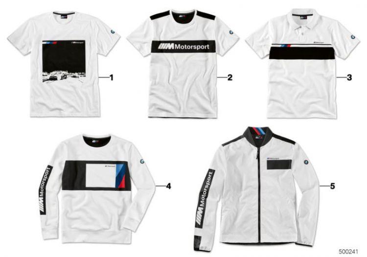 Original BMW //////M Motorsport Herren Logo T-Shirt men`s Shirt XL 80142461104