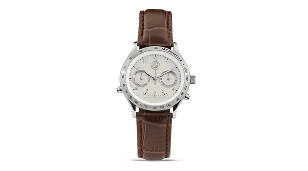 Original wristwatch ladies´ day date SILVER BROWN  37a52c3aea