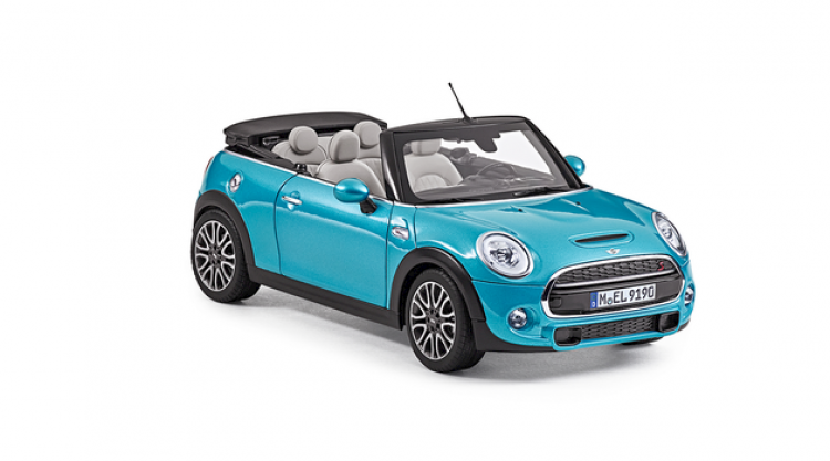 MINI Miniatur Cabrio F57, Number 01 in the illustration