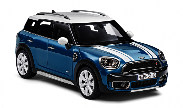 MINI Cooper S Countryman F60 1:18, Number 02 in the illustration