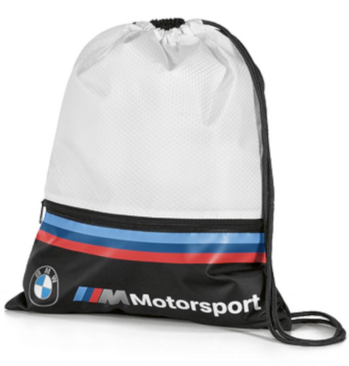 BMW M Motorsport Sportbeutel black/white (80282461128)