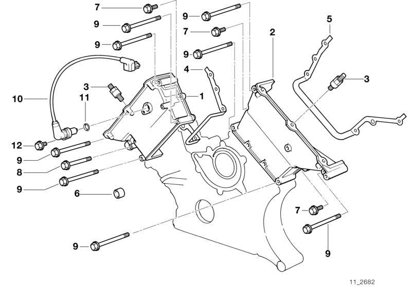BMW 11-14-1-741-128 Profile-Gasket