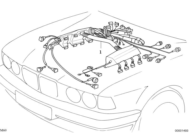 original bmw engine wiring harness dme+egs 5er e39 | hubauer-shop.de  hubauer-shop.de