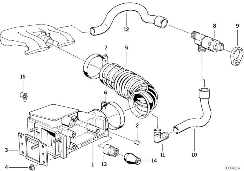H/ÜCO 135077 Air Flow Meter