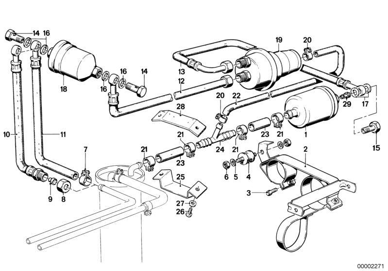 Amazing Original Bmw Kraftstoffspeicher 3Er E30 Hubauer Shop De Wiring Database Cominyuccorg