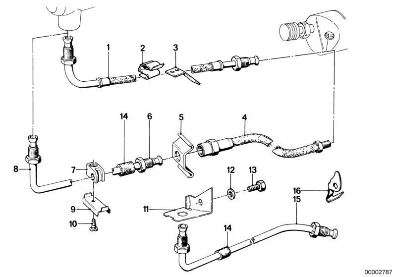 Outstanding Original Bmw Clutch Pressure Hose 5Er E28 Hubauer Shop De Wiring 101 Ferenstreekradiomeanderfmnl