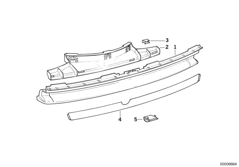BMW Clamp 51121946136
