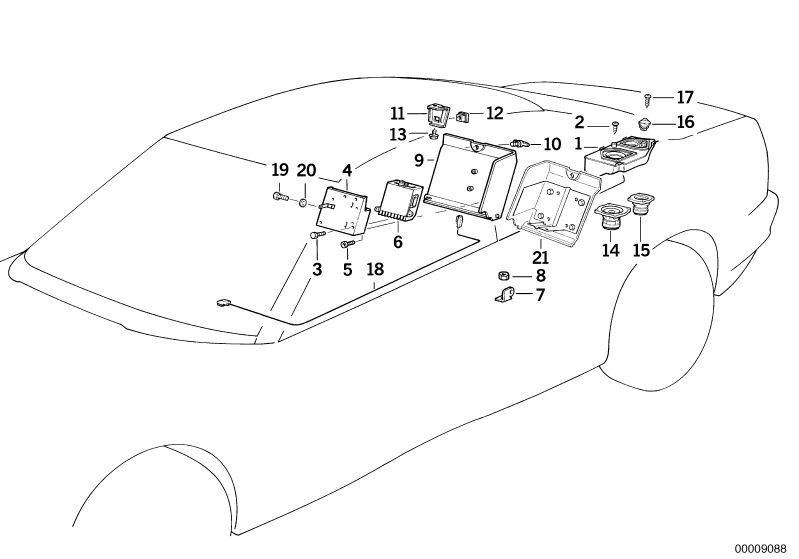 Original Bmw Lautsprecher Links Z3 Roadster Z3 Hifi Hubauer Shopde