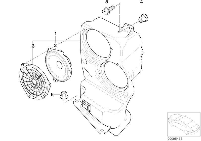 original bmw subwoofer hifi system professional dsp x5 e70 30