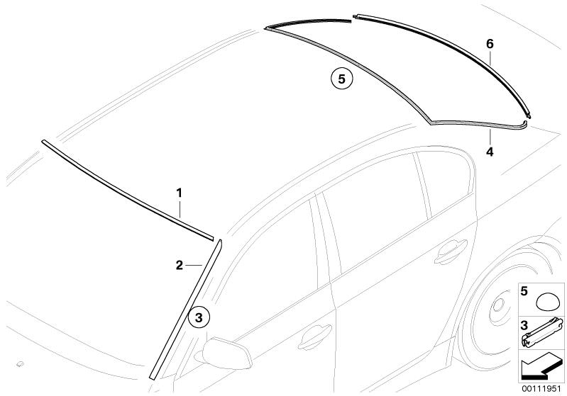 Abdeckung Original BMW 33177677921