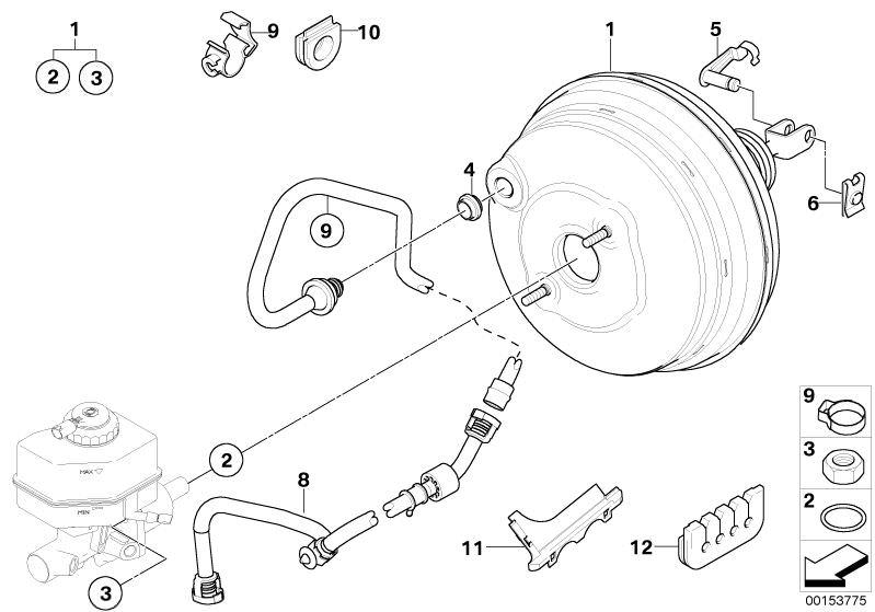 Original Bmw Vacuum Pipe X3 F25