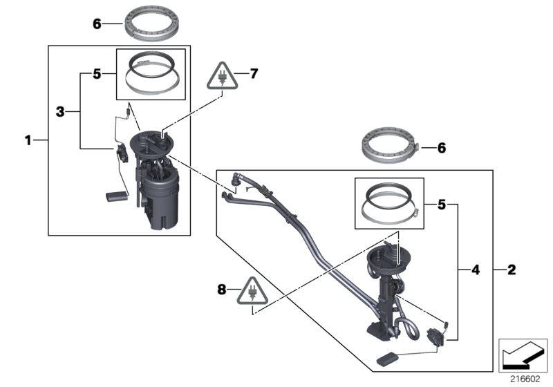 Diagram Of The Fuel Pump Sensor