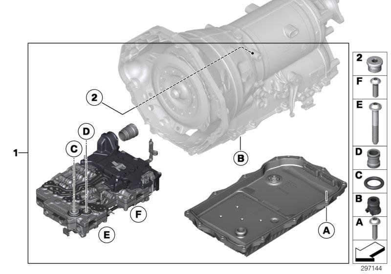 Satz Führungsbolzen für BMW NK 8999021 Rep