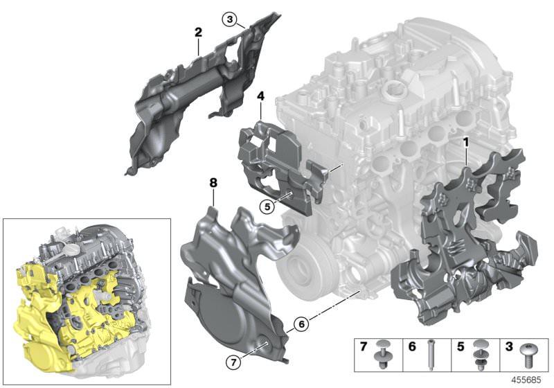 Original BMW Engine encapsulation, left (11147648894)