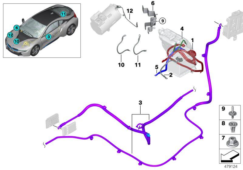 Motorrad-Motorsport Groundcable CAVO MASSA