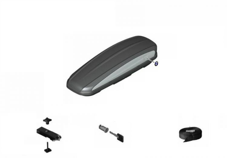 Original BMW Roof box 320 schwarz (82732420634)