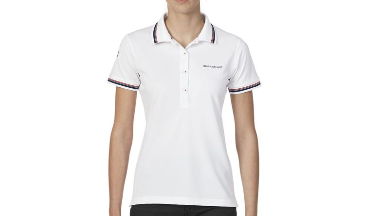 BMW Yachtsport Poloshirt Damen white