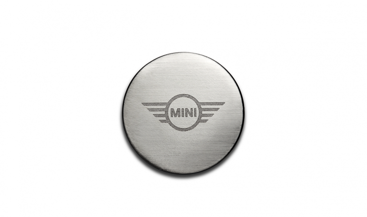 MINI Magnet Wing Logo, Number 01 in the illustration