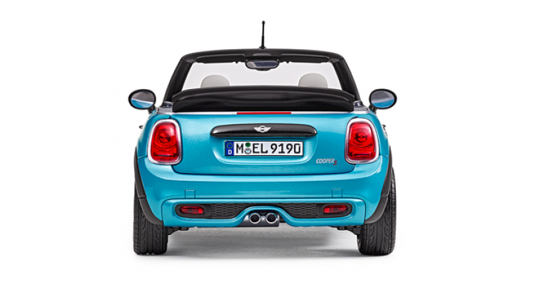 MINI Miniature Convertible F57 electric blue