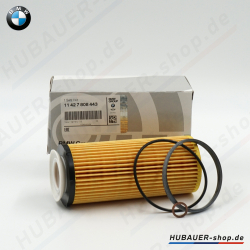 Original filtro aceite bmw 3er e90 e91 e92 e93 5er f10 f11 f07 7er f01-04 11427808443