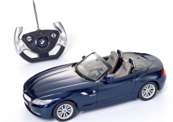 BMW toy car RC miniature Z4 12, blue (80442447988)