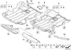 BMW 51-75-7-140-983 Cover Engine COMPAR