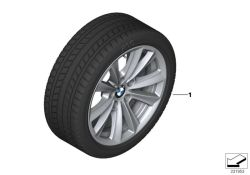 Original BMW Wheel & tire, winter,light alloy RDC LC 225/55R17 97H (36112411405)