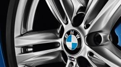 Wheel center cap with chrome ring BMW (36136783536)