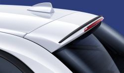 Original BMW Rear spoiler, black, matt M Performance (51622338895)
