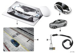BMW USB-Stick 16GB SILVER (80292358820)