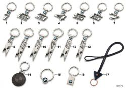 BMW key ring X2  (80272454657)