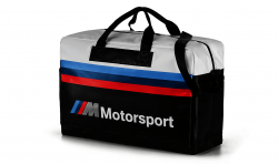 BMW M Motorsport Reisetasche black/white (80222461145)