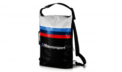 BMW M Motorsport Rucksack black/white (80222461146)