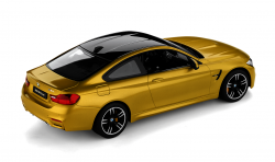 BMW toy car RC miniature M4 Coupé 14, yellow (80442447987)